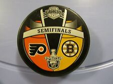 2011 Stanley Cup Playoffs Dueling Puck Philadelphia Flyers / Boston Bruins