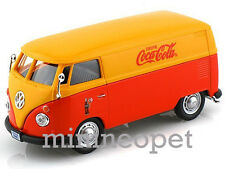 MOTOR CITY CLASSICS 434481 1962 VW VOLKSWAGEN PANEL VAN BUS COKE COCA COLA 1/43