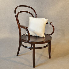 Antique Art Deco Bentwood Armchair Elbow Chair Vintage Cafe Seat c1940