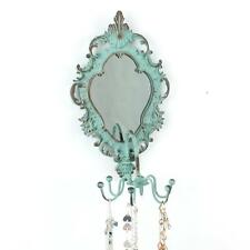 Vintage Style Dressing Rotating Mirror Swing Jewellery Hanger Holder Stand Metal