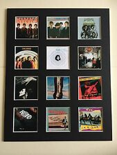 """THE KINKS DISCOGRAPHY 14"""" BY 11"""" LP COVERS PICTURE MOUNTED READY TO FRAME"""