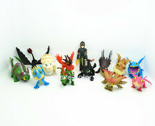 13 pcs Hiccup Night Fury Toothless How to Train Your Dragon Action Figures Toy