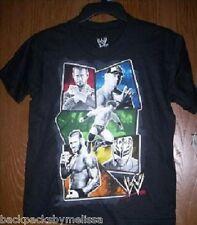 WWE John CENA Black s/s Shirt Boys 14/16 NeW Rey Mysterio Orton CM Punk Sheamus