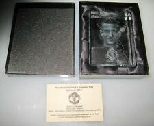 ANDERS LINDEGAARD MANCHESTER UNITED 2010 HONORY GLASS SEAL SWANSEA CITY 2012 NEW