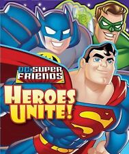 DC Super Friends: Heroes Unite! SHAPED FOLD-OUT