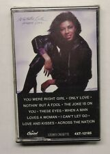 NATALIE COLE HAPPY LOVE/HAPPY EYES CASSETTE Capitol Rec 4XT-12165 US 1981 M