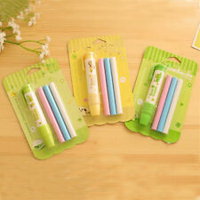 1PCS Stationery Pen Shape Random Color Students Rubber Eraser Kid Toy Fashion