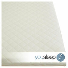 Premium Cot Bed Mattress Baby Toddler Foam Matress Quilted Cover Size 140x70x7.5
