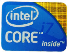 INTEL CORE I7 STICKER LOGO AUFKLEBER 24x18mm (260)