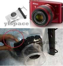 Camera waterproof underwater case *LONG LENS* for SONY NEX-C3 NEX-5N NEX 7