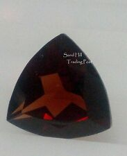 Natural 7mm Loose Trillion Cut 1.54ct Red Garnet AAA
