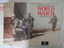 CHARLES MESSENGER The Pictorial History of World War II 1987 Large HC Book