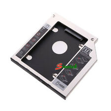 Universal 2nd HDD HARD DRIVE 9.5mm SATA to SATA Caddy FOR HP DELL ACER BenQ ASUS