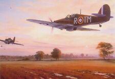Hawker Hurricane Batalla De Gran Bretaña aviones aviones de combate avión Tarjeta De Cumpleaños