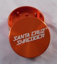 "Small 1.6"" Orange 2 Piece SANTA CRUZ SHREDDER Grinder"