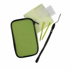 Gamexpert Essential VFM Case Cover Skin Bundle Screen Stylus DS Lite DSi Green