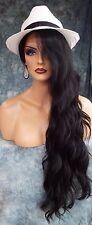 LACE FRONT WIG LONG ROLLING ALLURING SULTRY WAVES LIGHT COLOR ☆1B USA SELLER 353