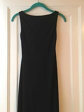 Women's Sz 2 Evening, Cocktail, Formal Dress By Cache, Pretty, Long, Open Back