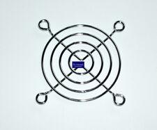 Lüftergitter Schutzgitter Metall verchromt silber 60x60mm für 60mm Gehäuselüfter
