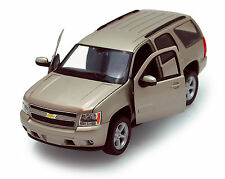 Gold Mist Chevy Tahoe 1/24th Scale Diecast Model