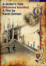 A JESTER'S TALE (Cronaca di un Folle) di Karel Zeman DVD in Ceco NEW .cp