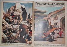 LA DOMENICA DEL CORRIERE 27 marzo 1960 Hillariet Maille Duomo a Parma Agadir di