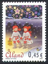 Aland 2005 Christmas/Greetings/Hologram/Holograph/Guides/Animation 1v (n41539)