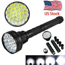 Vastfire 32000LM 24x XML T6 LED Flashlight 5 Modes Torch 18650 Camping Light Hot