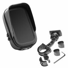Motocycle Mount and Bag waterproof antiglare for Apple iPhone 4 4S 5 5S SE 6 6S