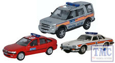 76SET50 Oxford Diecast 1:76 Scale OO Gauge Metropolitan Police Set