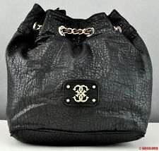 NWT Handbag GUESS SATCHEL Deputy Ladies Black Bag