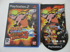 NARUTO SHIPPUDEN ULTIMATE NINJA 4 - SONY PLAYSTATION 2 - JEU PS2 COMPLET