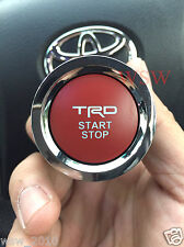 TRD Toyota Engine Push Start Button JDM STYLE 8 PINS FITS MOST 2014-2017 TOYOTA
