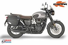 Givi PL6410 Rack & Pair of K22N Panniers for Triumph Bonneville T120 2016, 2017