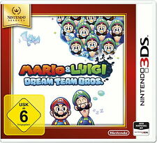 Nintendo 3 DS Spiel: Mario & Luigi Dream Team 3DS SELECTS NEU & OVP PAL Version
