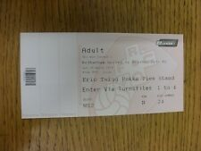 29/03/2014 Ticket: Rotherham United v Bristol City [Complete Ticket] . Thanks fo