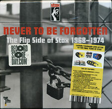 "NEVER TO BE FORGOTTEN  ""THE FLIP SIDE OF STAX 1968-1974""  10 DISC BOX SET"