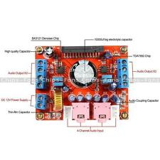 4X50W DC 12V Audio Power Amplifier Board Module With BA3121 Denoiser TDA7850
