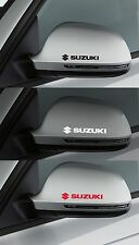 FOR SUZUKI  -  2 x Wing Mirror  -  CAR DECAL STICKER ADHESIVE SWIFT - 100mm long