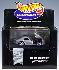 Hot Wheels Collectibles Dodge Viper GTS Limited Edition 1/64 MIB