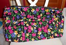 Vera bradley Large duffel bag in Wildflower Garden pattern NWT