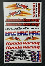 Honda Racing Woody aufkleber set decal 16x26cm. HRC 21 stickers cbr 600 1000rr