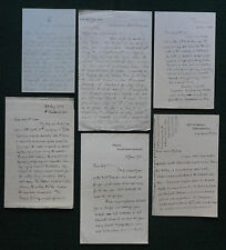 Turkey Archive of Signed Letters Queen Victoria's Ambassador Young Turks 1902-10