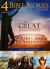 Bible Story Collection: 4 Movies, Vol. 1 (DVD, 2013) New Sealed