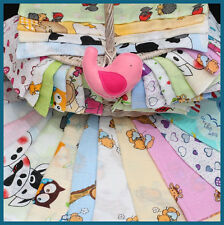 3 LARGE 70x80cm Muslin Squares 100% Cotton Cloths Napppies // Made in EU Tetra