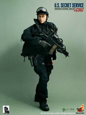 "1/6 Hot Toys Model U.S. SECRET SERVICE HT SWAT Soldier Clothes Set F 12"" Figure"