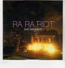 (GH328) Ra Ra Riot, The Orchard  - 2011 DJ CD