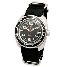 AM-DIVER Diver-Watch Automatic Water-Resistant Stainless-Steel Case 710005BsB US