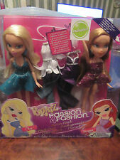 BOXED BRATZ PASSION 4 FASHION TWINPACK.CLOE AND MEYGAN. UK EXCLUSIVE.