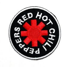 Red Hot Chili Peppers Hard Rock Punk Band Jacket Cap Shirt Badge Iron on Patch